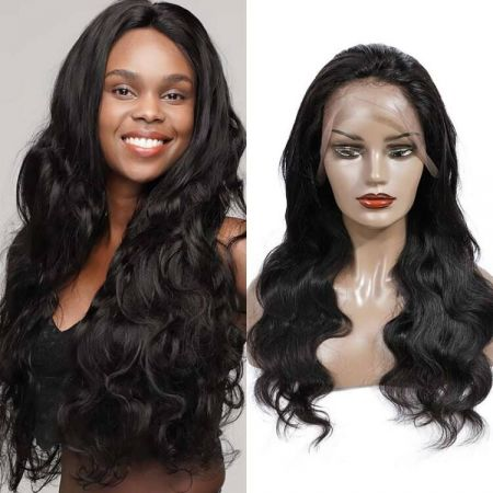 Today Only Hair 13*4 Lace Frontal Wigs Brazilian Body Wave Human Hair 150%&180% Density