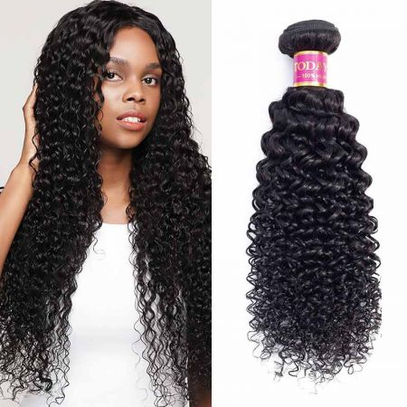 Today Only Hair Peruvian Virgin Kinky Curly 4 Bundles Curly Hair Weave 100% Human Hair Extensions