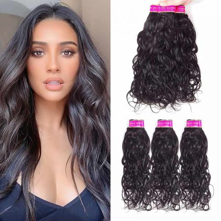 Today Only Hair Brazilian Natural Wave Hair 4 Bundle Deals Virgin Hair Weave Can Be Dyed And Bleach