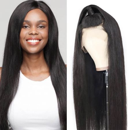 Todayonly hair Straight Lace Front Wigs 150% Density 13*4 Ear to Ear Frontal Wigs