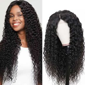 Today Only Hair Water Wave Lace Frontal Wigs Virgin Human Hair 130%/150%/180% Density
