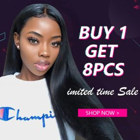 Black Friday Limited Time Sale Buy 1 Get same Free 1 for Any Length Virgin Hair Straight Bundle Deals