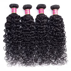 Today Only Hair Peruvian Water Wave Hair 4 Bundle Deals Virgin Hair Weave Can Be Dyed And Bleach