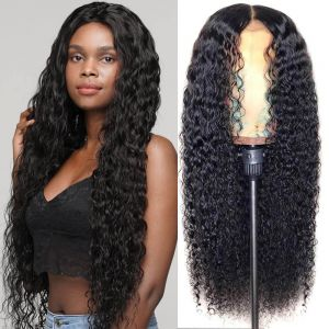 Todayonly Hair 13x6 Lace Frontal Kinky Curly Human Hair Lace Front Wigs Brazlian Virgin Hair