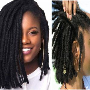 Today Only Hair Synthetic Locs Extensions Crochet Braids Dreadlocks 6 Inch Handmade Hair