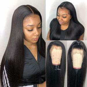 Todayonly hair Straight Lace Front Wigs For Women 150% Density 13*4 Ear to Ear Lace Front Human Hair Wigs