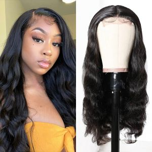 Today Only Hair 100% Human Hair Body Wave Lace Part Wig With Natural Color