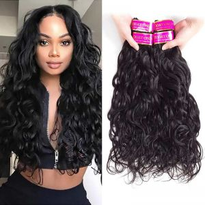 Today Only Hair Virgin Hair Natural Wave 4 Bundles Brazilian Human Hair Weave