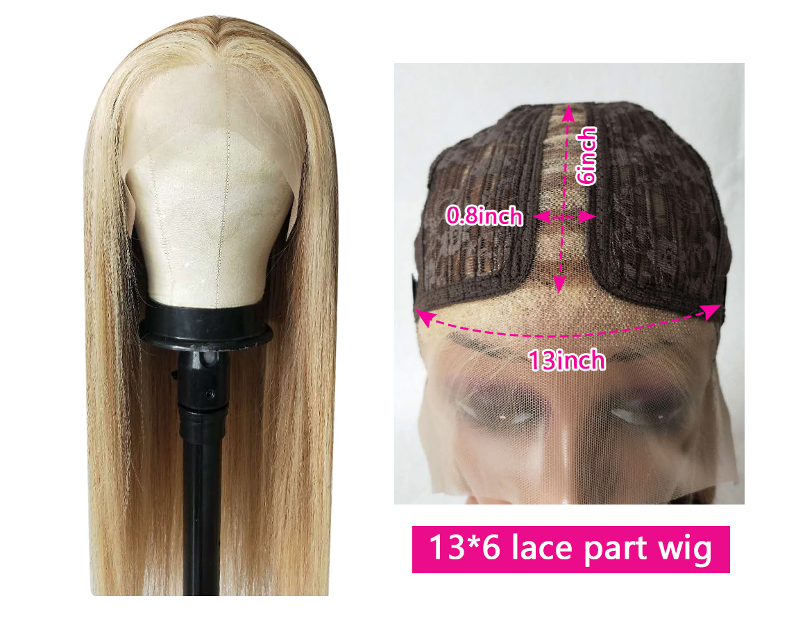 highlight blonde hair wig