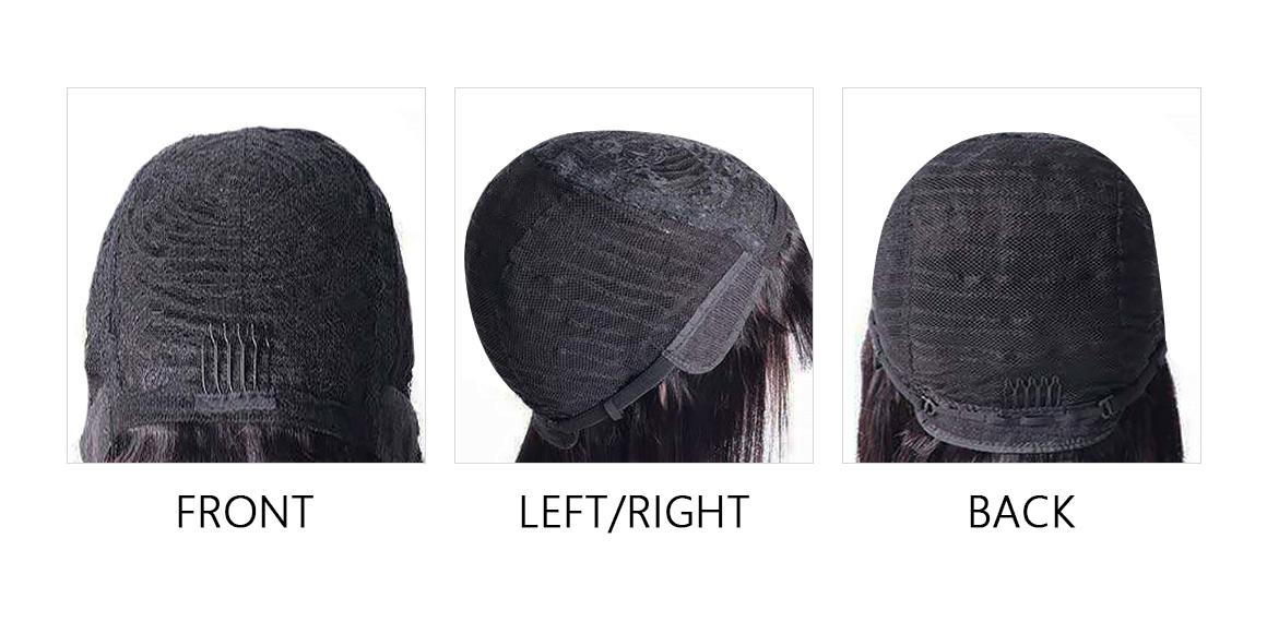 99j Machine Made Straight Wigs