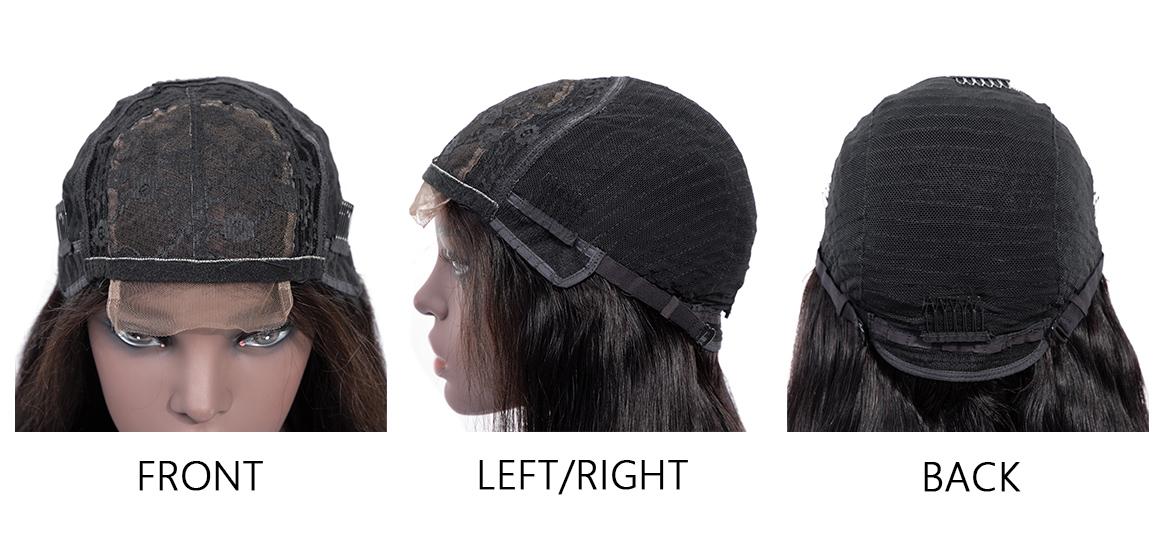 lace part wig 99j