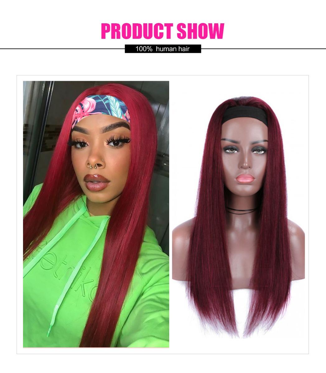 headband glueless wig