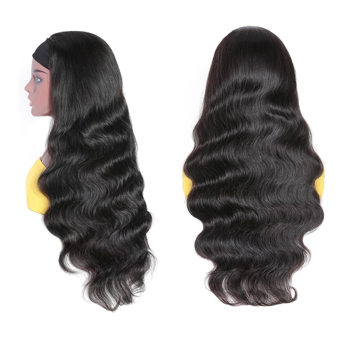 glueless headband body wave wig
