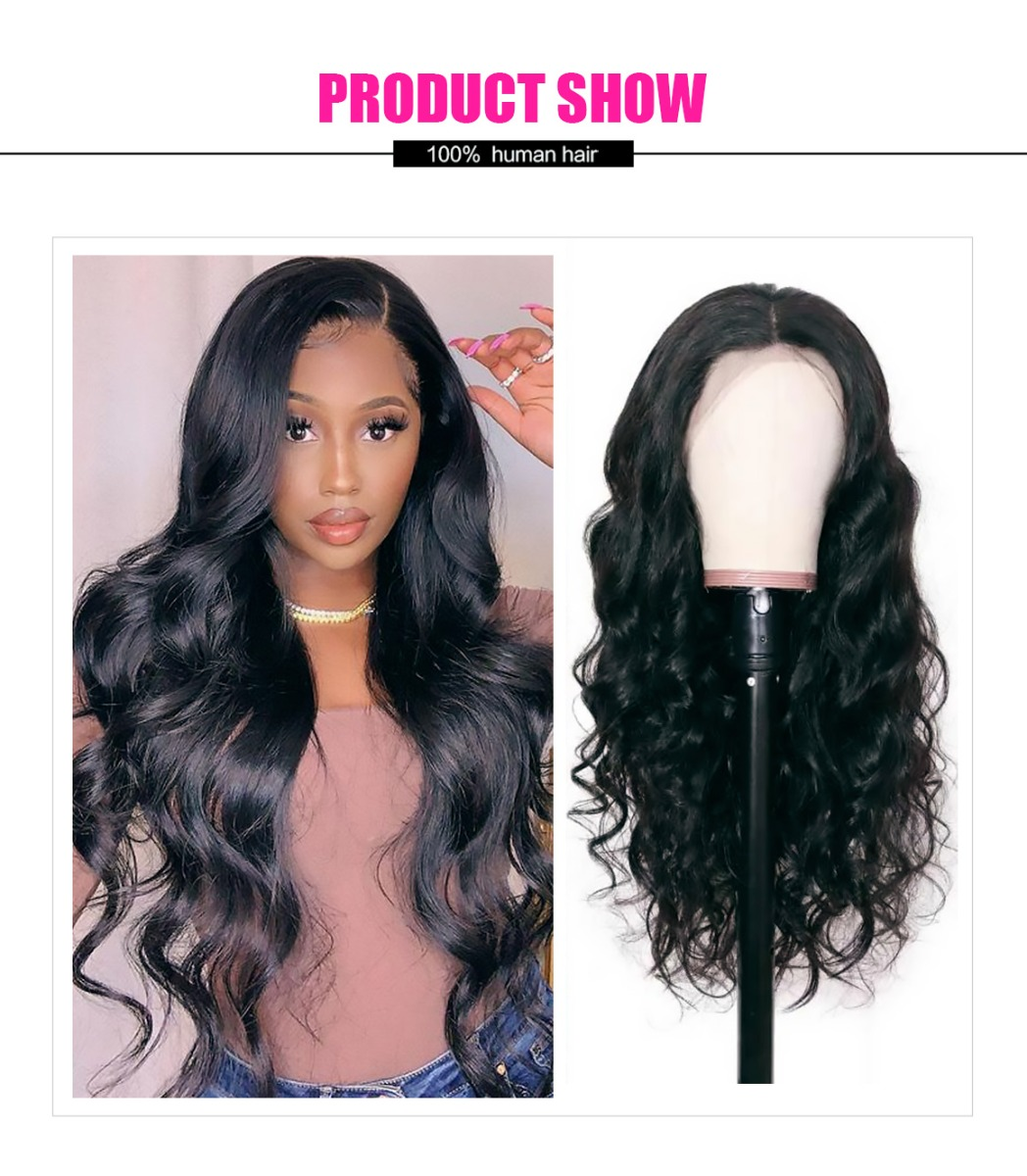 body wave lace part wig