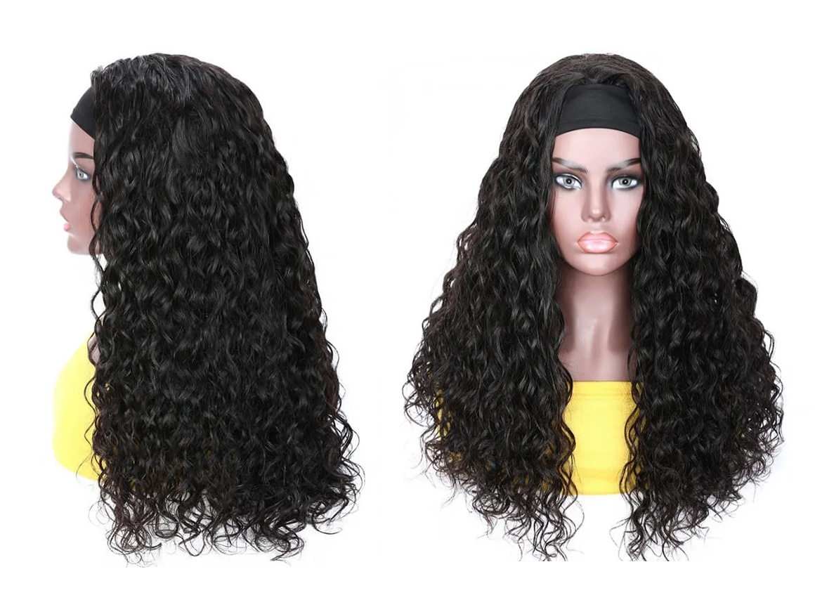 jerry curly wig headband gluless