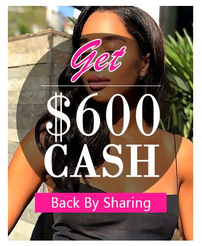human hair wig cash back