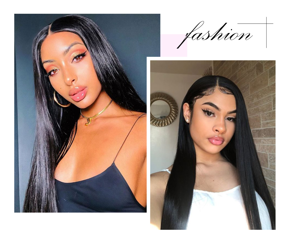 lace closure straight wig