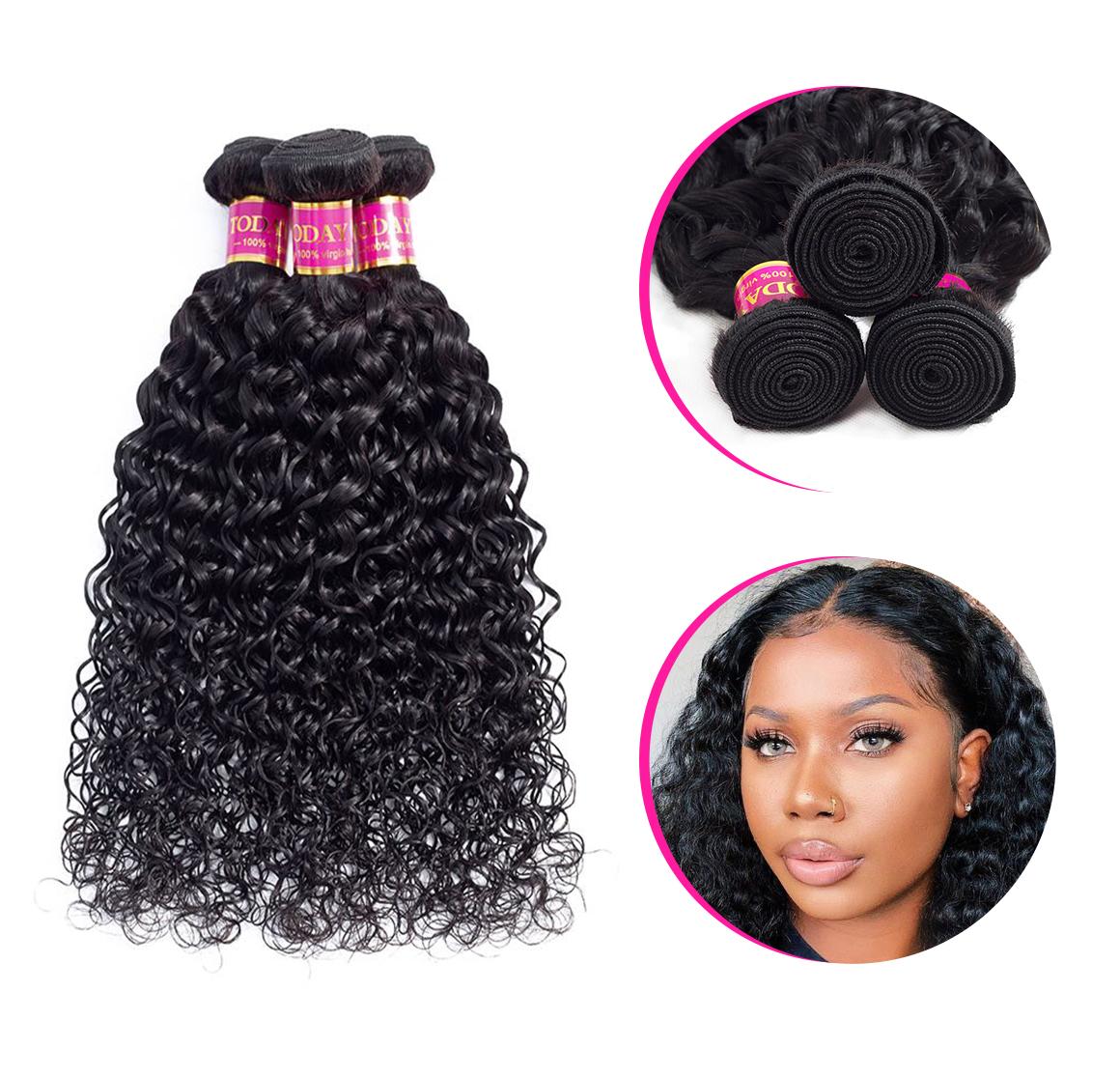 water wave 3 bundles hair